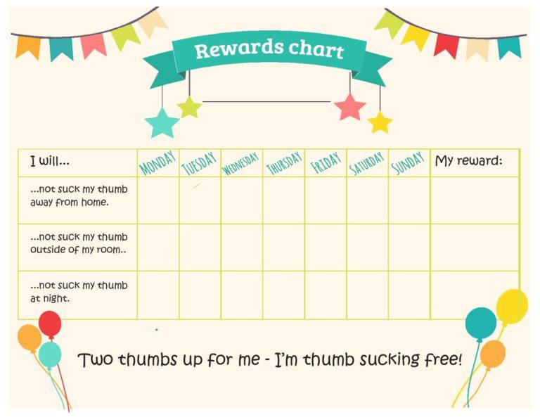 Thumbsucking-Reward-Chart